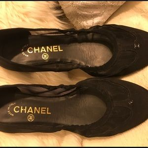 100 % Authentic Chanel Flats